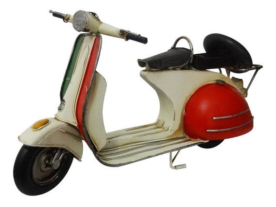 Moto Vespa Italia En Miniatura Coleccionable Coleccion