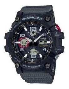 Relógio Casio G Shock Gsg 100-1a8dr Mudmaster Solar