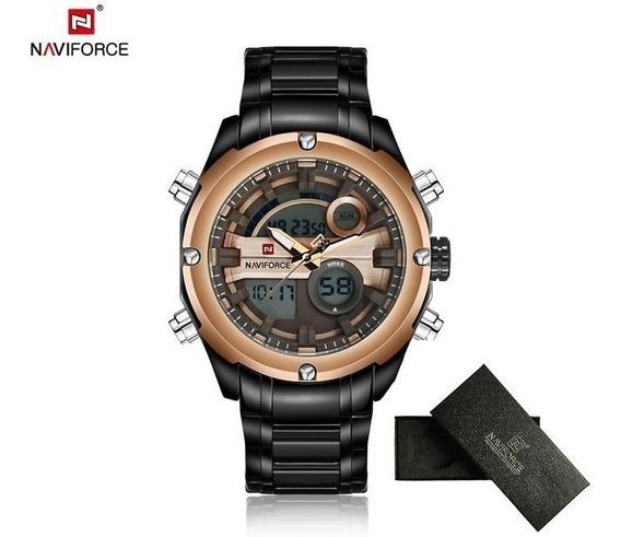Relógio Masculino Naviforce 9088 Analógico Digital + Frete