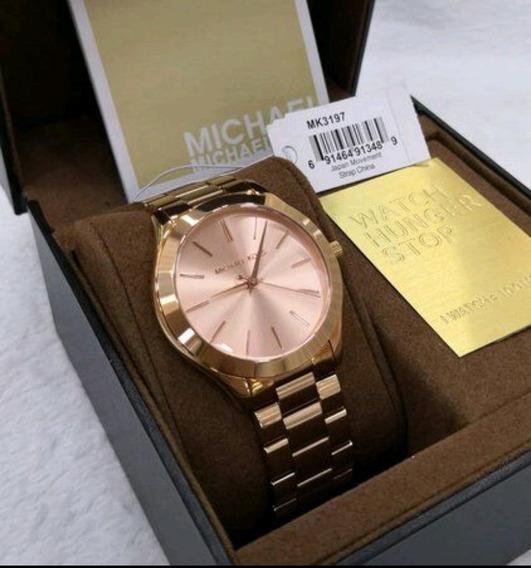 Relógio Michael Kors Original Feminino Mk 3197