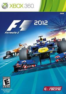 F1 2012 - Xbox 360 Fisico Nuevo & Sellado