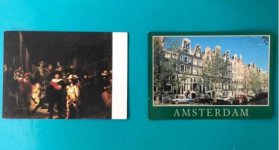 4 Postales Holanda - Varios