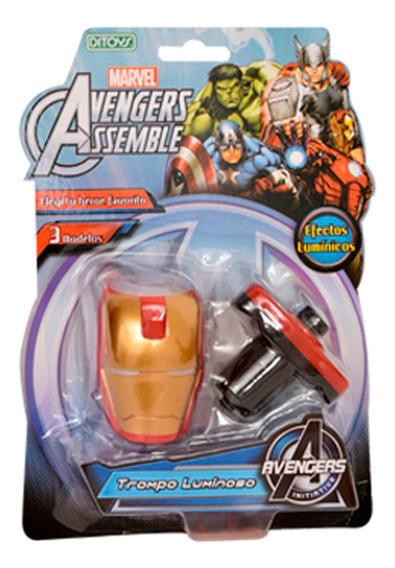 Avengers Trompo Luminoso Iron Man