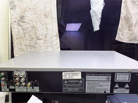 Dvd Philco Model Dv P2100sk
