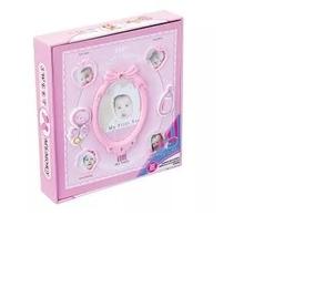 Álbum De Fotos Menina Rosa Baby P/ Chá De Bebê 120fotos