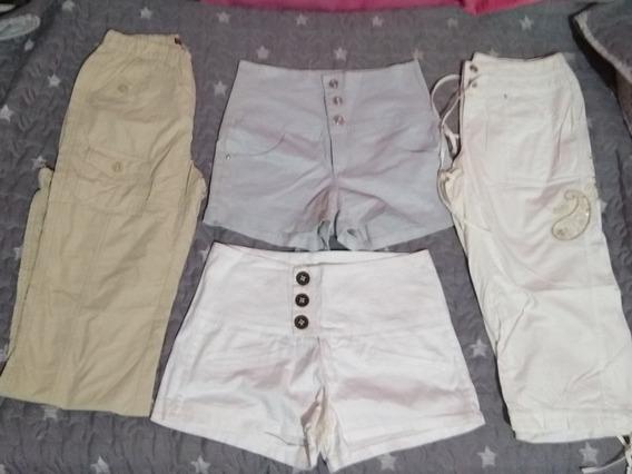 Lote Combo Pantalones Short Mujer