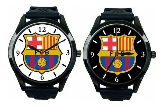 Kit 2 Relógios Pulso Esportivo Masculino Barcelona Barato