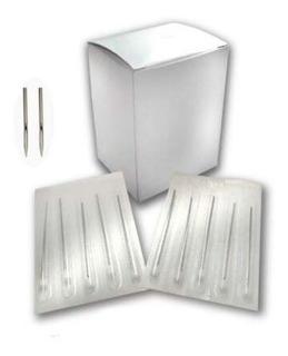 100 Pzas Can Para Perforar Ags Piercing Una Medida