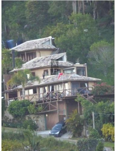 Imagem 1 de 15 de Casa Alto Padrão Para Alugar Em Ferraz Garopaba-sc - Ka801
