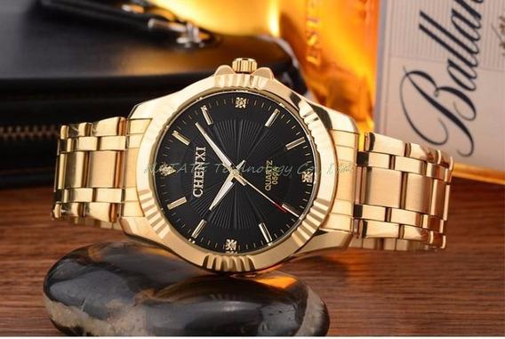 Relógio De Pulso Chenxi Quartz Barato