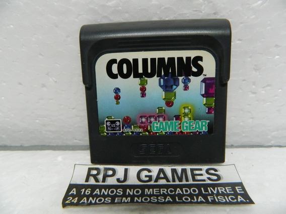 Columns Original P/ Game Gear - Loja No Centro Do Rj