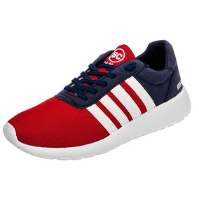 Tenis Sneaker Been Class Niños Textilsint Rojo 09997 Dtt