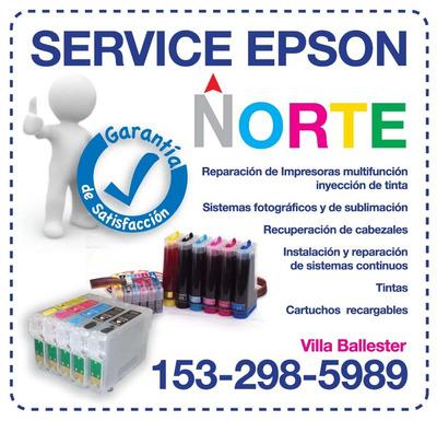 Reparacion Service Impresoras Epson Norte