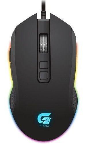 Mouse Gamer Pro M3 Rgb Fortrek- Novo