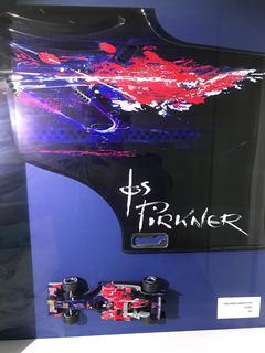 Quadro C/ Peça Formula 1 Toro Rosso 2006 - Aceito iPhone 11