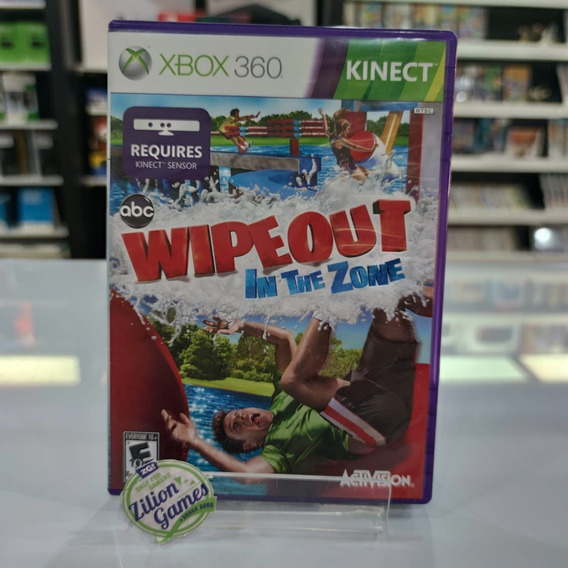 Wipeout In The Zone Kinect Xbox 360 - Completo