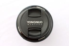 Lente 50mm Yongnuo 1.8