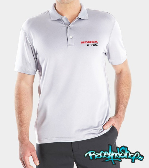 Playera Polo Premium Honda V-tec Dryfit R&s