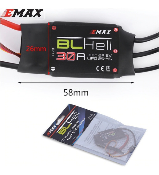 1x Emax Blheli Serie 30a Multirotor Quadrotor