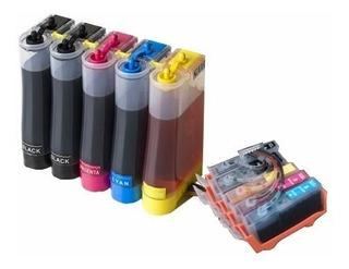 Sistema Continuo Para Impresora Canon Ix 6810 7210 Tinta Aqx