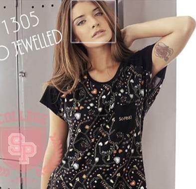 Pijama So Pink 11305 Inv Remera M/corta Pantalón
