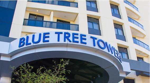Flat No Tatuapé, Famoso Blue Tree Anália Franco Com Todo Conforto - Sf25756