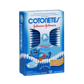 Kit C/ 8 Cotonetes Jxj C/150