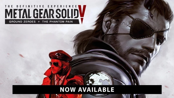 Metal Gear Solid V The Definitive Experience Pc Steam Key
