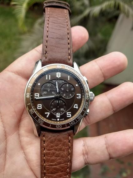 Reloj Victorinox Chrono Classic Xls 45 Mm