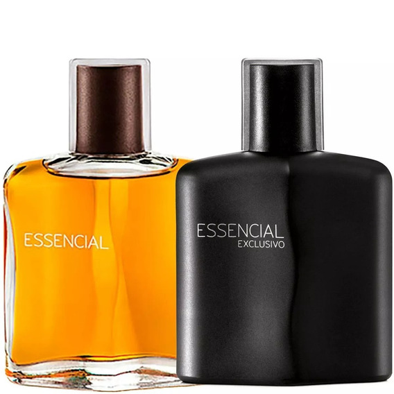 Essencial Clássico + Exclusivo Masculino 100ml Kit C/2