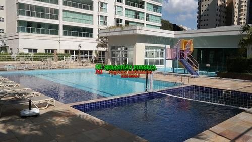 Apartamento 183 M² Alto Padrão Central Park Aquarius - 1610