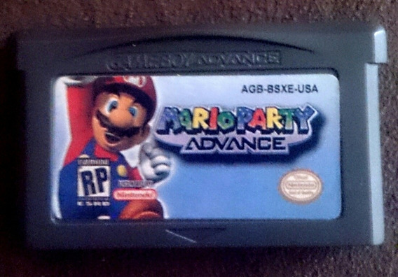 Mario Party Advance Game Boy Advance Testado