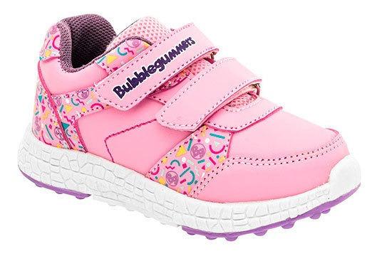 Zapato Casual Patron Niña Textil Dtt90271 Plastico Textura