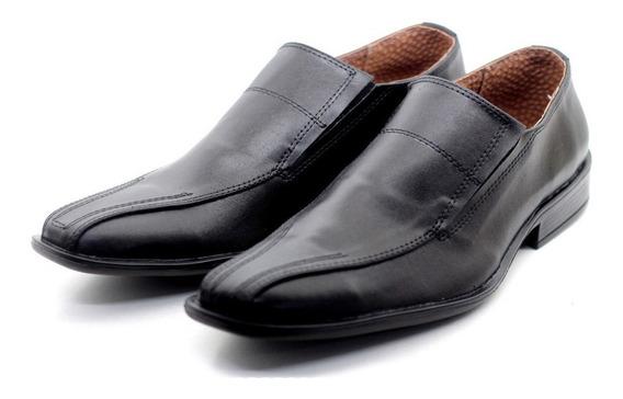 Zapato De Vestir Hombre Con Elastico Simil Cuero (1243/12)