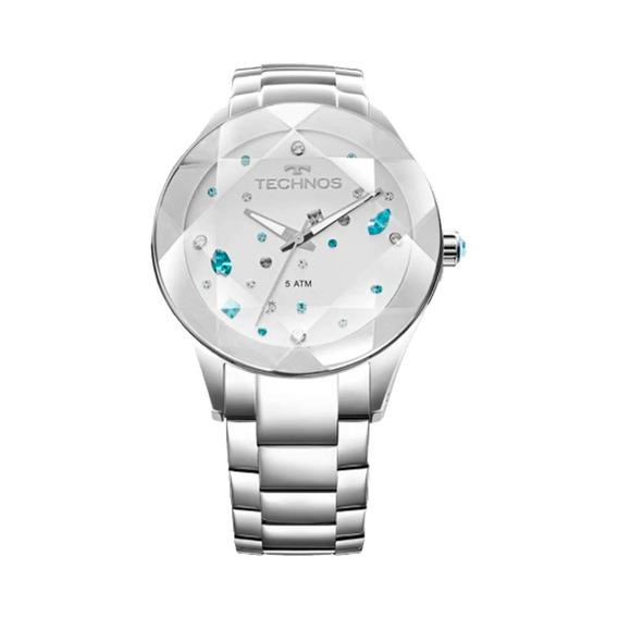 Relógio Technos Feminino Prata