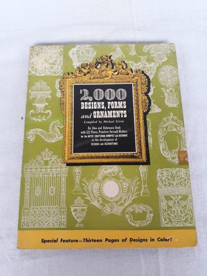 Revista 2000 Designs Forms And Ornaments Michel Estrin 1947