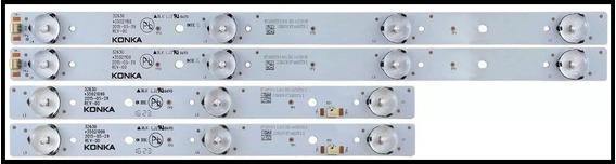 Kit C/4 Barras Led Semp Toshiba 32l1500 Dl3253w Dl3253 Orig*