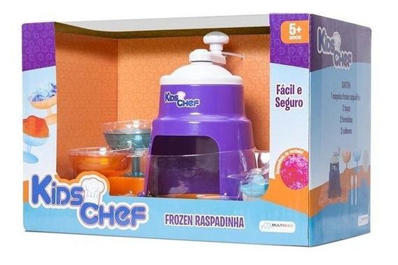 Máquina De Raspadinha Kids Chef Frozen Com Acessórios Br111