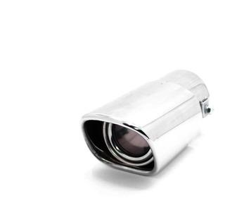 Colita Escape Auto . 80x170x63mm Cromada