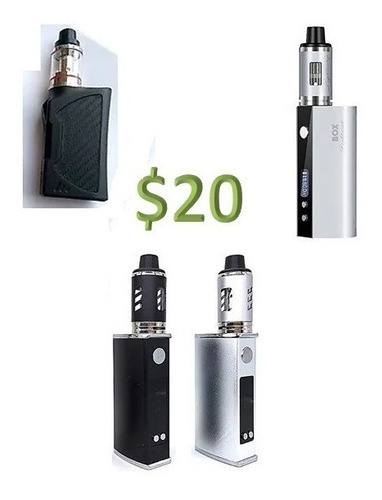 Vaporizador Cigarro Electrico Vaper Bigbox Mini. Lightning
