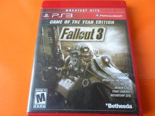 Canje 1x1 Fallout 3 Goty Ps3 Venta Envíos Caba S/c Dom Play