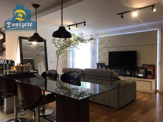 Apartamento Com 1 Dormitório À Venda, 67 M² Por R$ 425.000,00 - Jardim - Santo André/sp - Ap7646