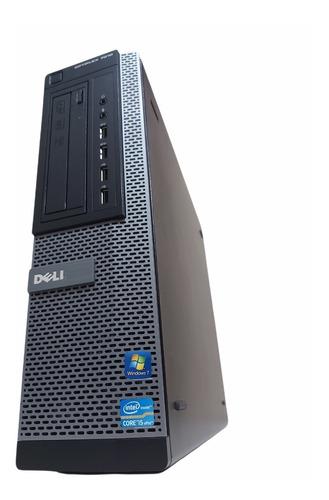 Imagem 1 de 10 de Computador Dell Optiplex 7010 I5 4gb Hd 500gb Gabinete Slim