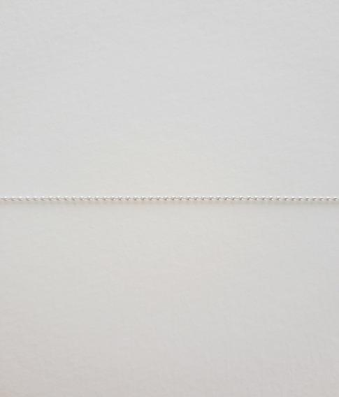 Pulseira Feminina De Prata 925 Modelo Bolinha 19,5cm Linda