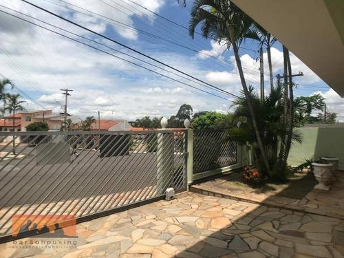 Imagem 1 de 30 de Casa Com 3 Dormitórios À Venda, 229 M² Por R$ 680.000,00 - Residencial Burato - Campinas/sp - Ca2018