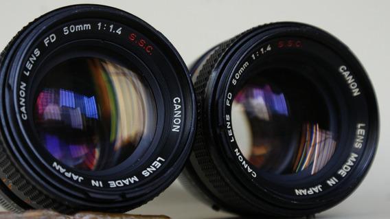 Lentes Canon 50 Mm 1.4 - Canon / Nikon / Sony