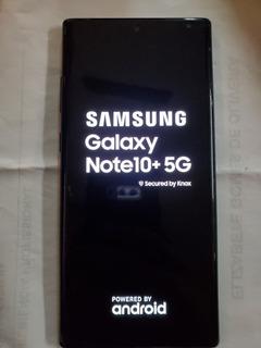 Samsung Galaxy Note 10+ 5g Plus 256gb Preto 5g! 5g! 5g!