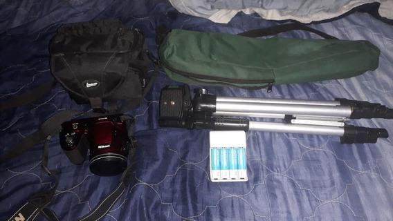 Nikon Coolpix L820 Compacta Cor Vermelho