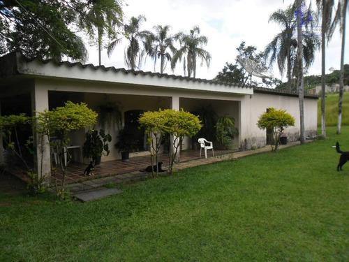 Chácara Residencial À Venda, Fazenda Hotel São Bento Do Recreio, Valinhos. - Ch0051