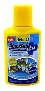 Tetra Aquasafe Plus 100ml R.757 Lts Acondicionador Anticloro
